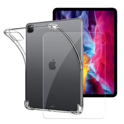 CITY for 2020 iPad Pro 11吋 平板5D 4角軍規防摔殼+專用版9H鋼化玻璃保護貼組合