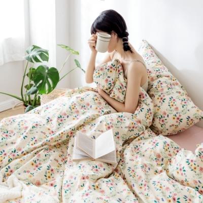 (買一送一) La Lune 200織紗精梳棉床包枕套組 單/雙/大均價