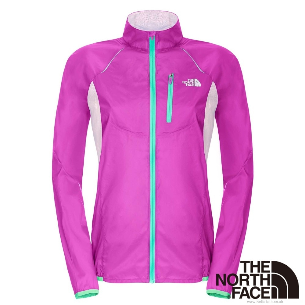 The North Face 防潑風衣外套 女 紫紅-CKP7G07-CC product image 1