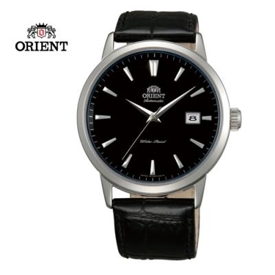 ORIENT 東方錶DATE系列 日期顯示功能機械錶 皮帶款 FER27006B - 41mm