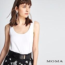 MOMA 親膚素色背心