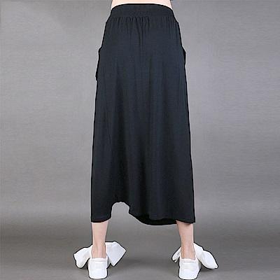 吊襠褲鬆緊腰寬鬆顯瘦褲垮褲-設計所在MP1603