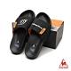 漩渦鳴人聯名拖鞋 LRL7331099-中性-黑-法國公雞牌《火影忍者疾風傳》 product thumbnail 2