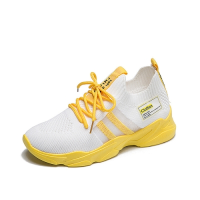 韓國KW美鞋館-極酷休閒運動鞋-黃色