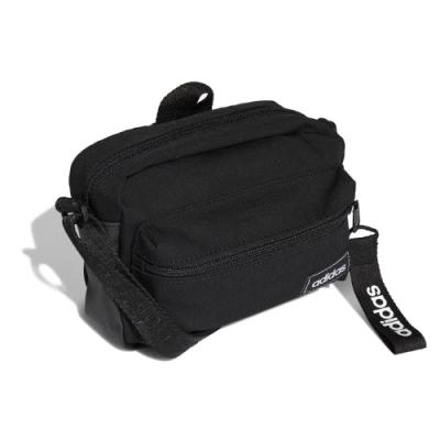 adidas 斜背包 Classic Organizer Bag 愛迪達 隨身小包 基本款 外出 黑 白 FL3732
