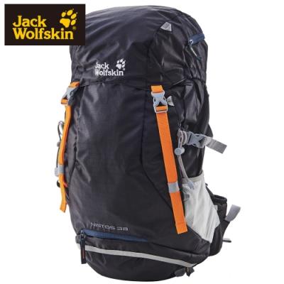 【Jack Wolfskin 飛狼】Nistos 健行背包 38L『黑色│藍色』