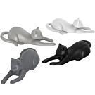 《KitchenCraft》Fred貓咪磁鐵4件(白灰黑)
