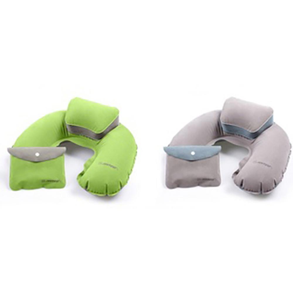 [暢貨出清] JIDA 植絨子母充氣枕(隨機出貨)