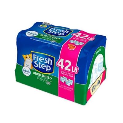 Fresh Step菲麗思-特強結塊貓砂-持久清香配方 42磅/19.0公斤