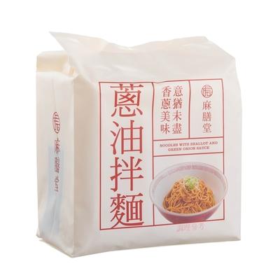 麻膳堂 蔥油拌麵4入(440g)