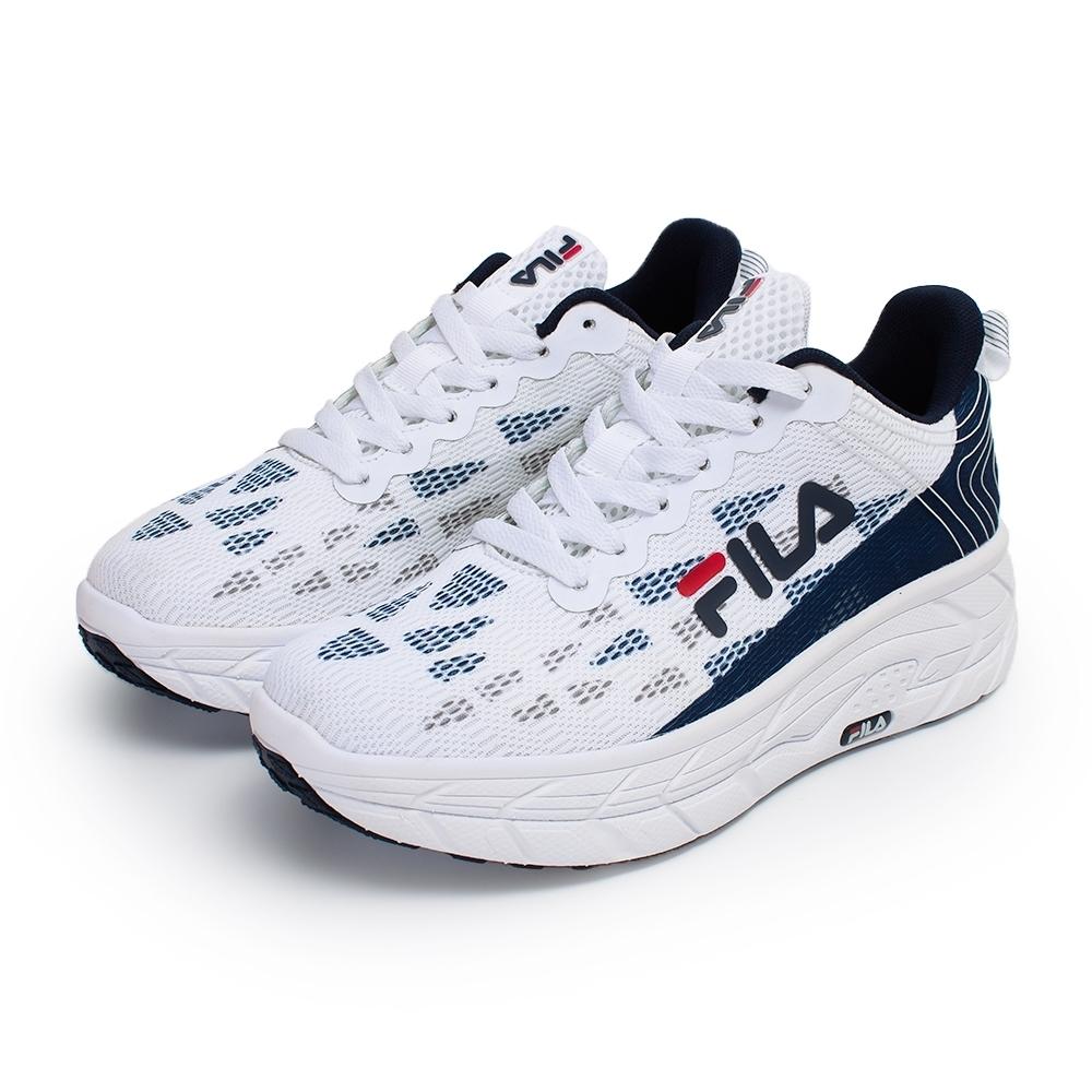 【FILA】CONTOUR LINE 慢跑鞋 男鞋-丈青/白(1-J321V-133)