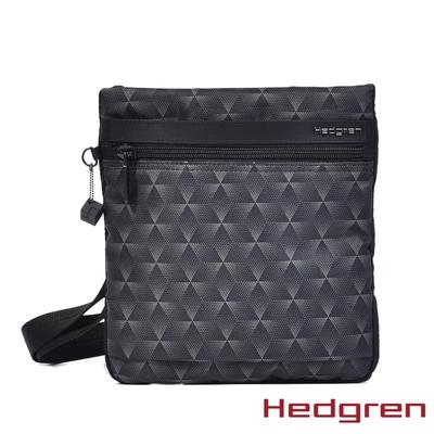 Hedgren INNER CITY輕量隨身 側背包 三角漸黑
