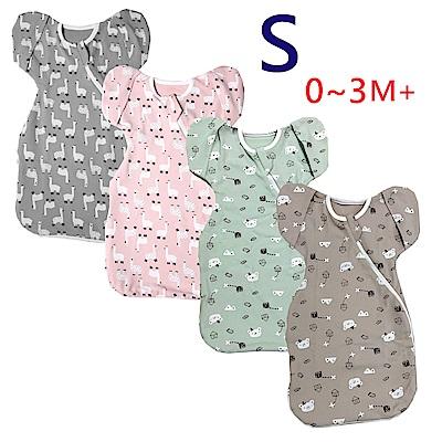 【小鹿蔓蔓】Bedtime嬰兒包巾睡袋(四款可選) S 0-3M+
