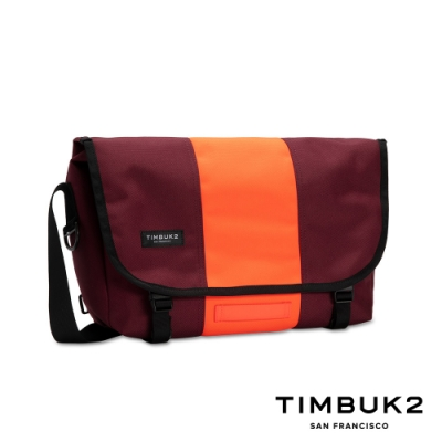 Timbuk2 Classic Messenger 13 吋經典郵差包 - 酒紅螢光配色