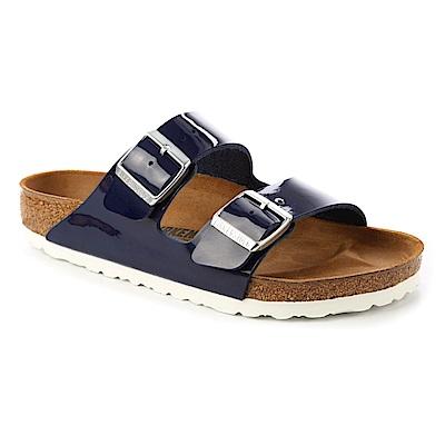 勃肯BIRKENSTOCK1005295ARIZONA亞利桑那經典二條拖鞋(深藍)
