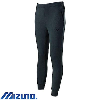MIZUNO 美津濃 女針織運動套裝褲子 黑灰 32TD773209