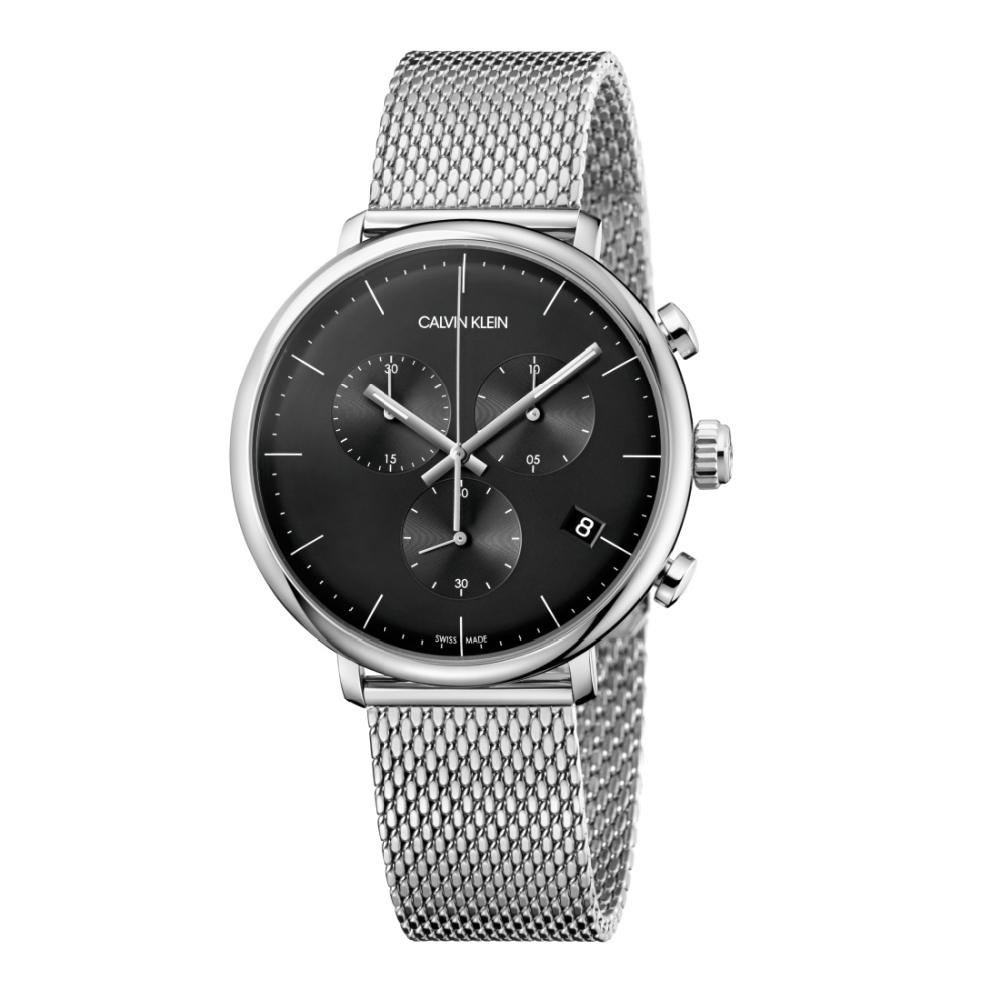 Calvin Klein CK 巔峰系列米蘭帶計時腕錶(K8M27121)43mm