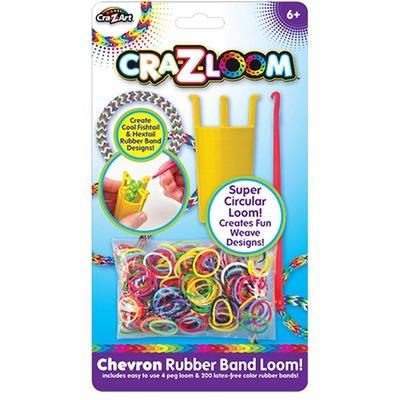 【美國Cra-Z-Art】Cra-Z-Loom 彩虹圈圈環形編織組