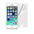 NISDA  For iPhone SE/5S/5/5C 高透光抗刮螢幕保護貼-非滿版