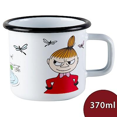 Muurla 嚕嚕米馬克杯 小不點 白色 370ml