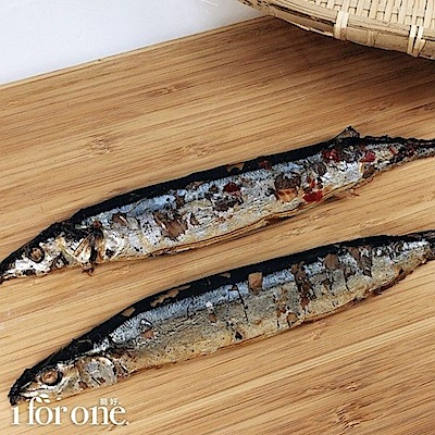 1 for one 秋刀魚甘露煮(2入/160g/袋,共2袋)