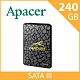 Apacer  AS340系列  PANTHER黑豹 SATA III 固態硬碟 240G product thumbnail 1