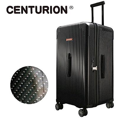 CENTURION美國百夫長CRUISE克魯斯系列29吋行李箱-奧蘭多黑MCO(胖胖箱)
