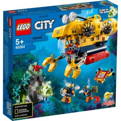 樂高LEGO 城市系列 - LT60264 海洋探索潛水艇