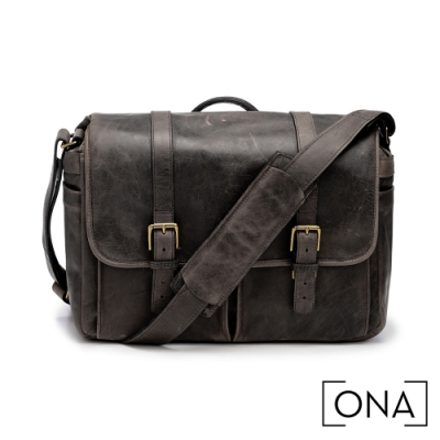 ONA Brixton 真皮專業相機包(1機3鏡,13吋筆電適用) - 松露黑