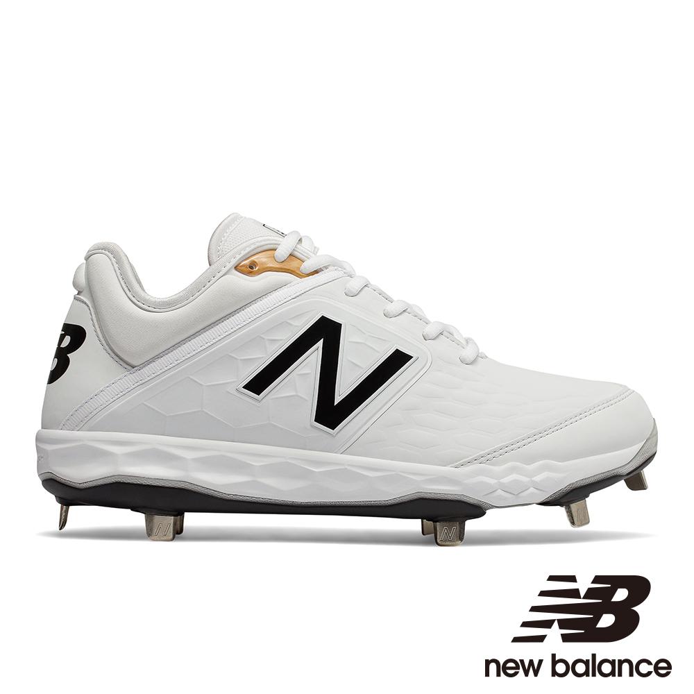 NEW BALANCE 棒球鞋-男L3000SW4白色