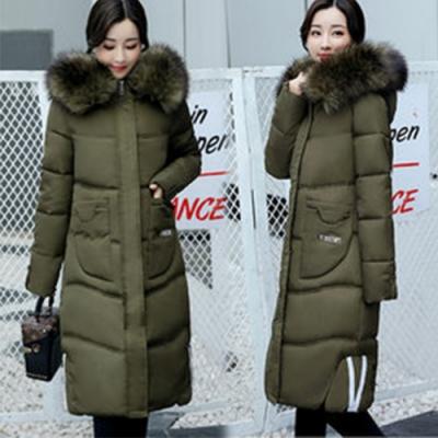【韓國K.W.】女人款保暖抗寒時尚毛領外套(五色可選)