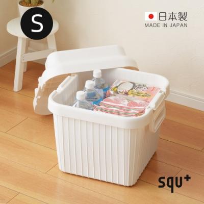 日本squ+ VARIOUS BOAT日製戶外室內耐壓收納箱-S-4色可選