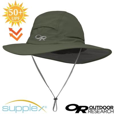 Outdoor Research Sombriolet Sun Hat 超輕多孔式防曬抗UV透氣大盤帽子(UPF 50+).圓盤帽_軍綠