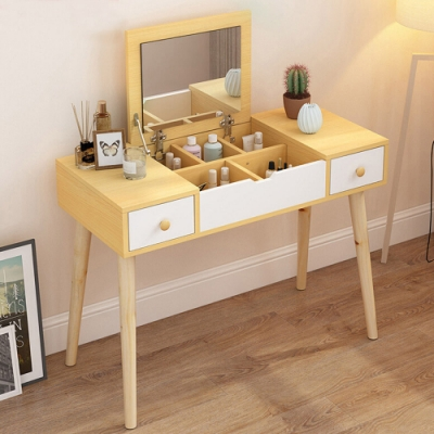CityShop促銷中**DT2北歐多功能梳妝桌B款90cm含椅