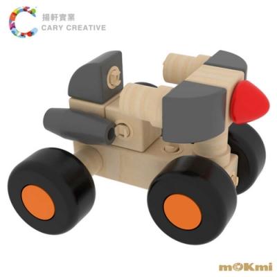 mOKmi x umu 木可米360°扣木製積木-車糸列