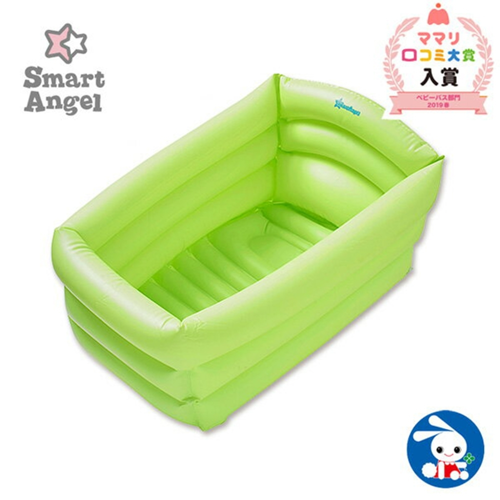 【Smart Angel 西松屋 】充氣式嬰兒浴盆/澡盆
