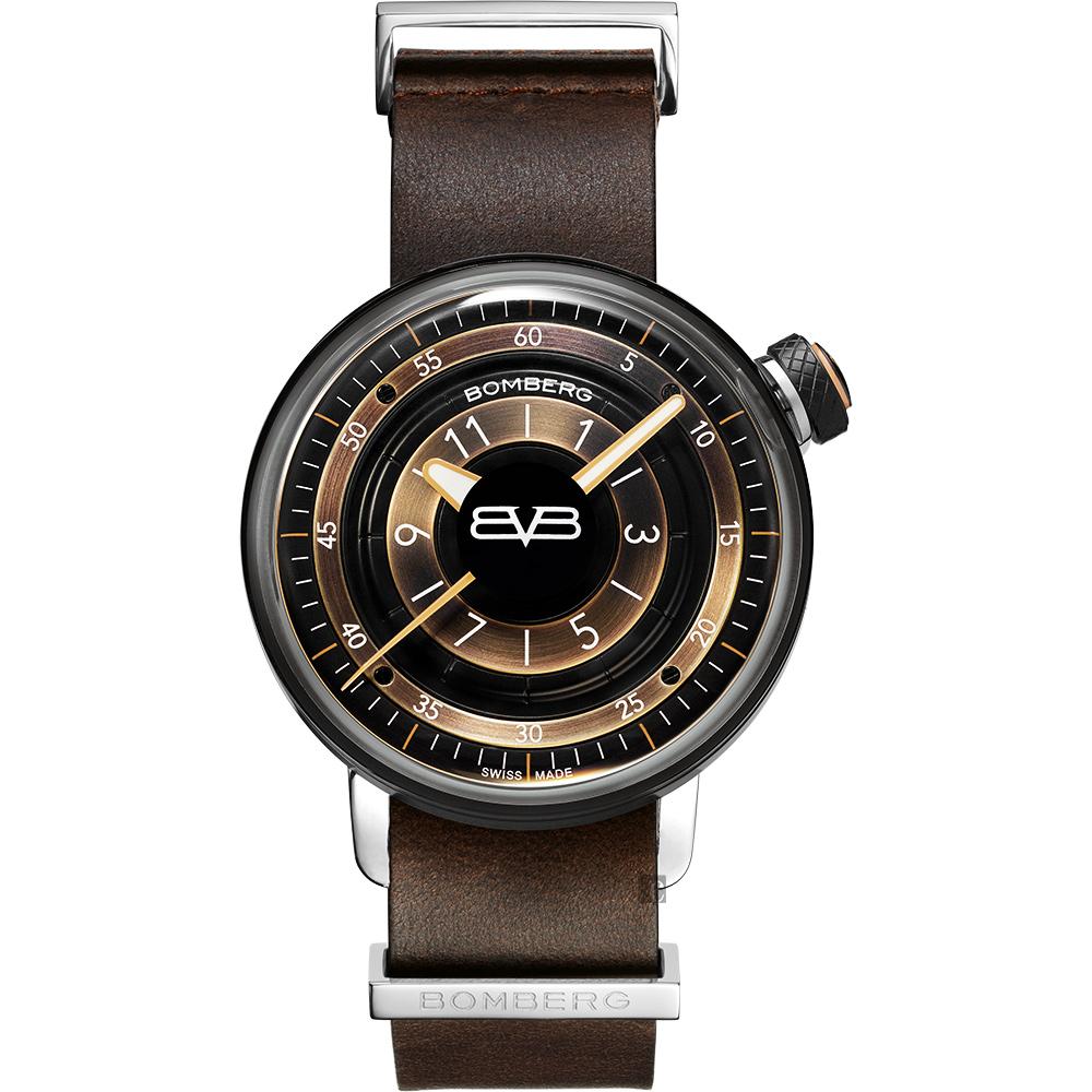 BOMBERG 炸彈錶 BB-01 個性女錶-咖啡/38mm