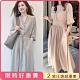 初色  法式浪漫大裙襬洋裝-共2款-(M-2XL可選) product thumbnail 1