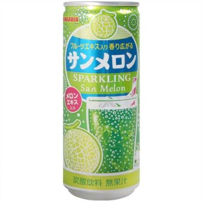 SANGARIA SAN碳酸飲料-哈密瓜風味 (250ml)