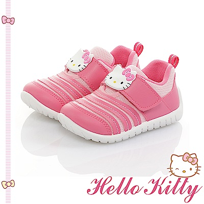 HelloKitty 透氣輕量減壓抗菌防臭休閒童鞋-桃