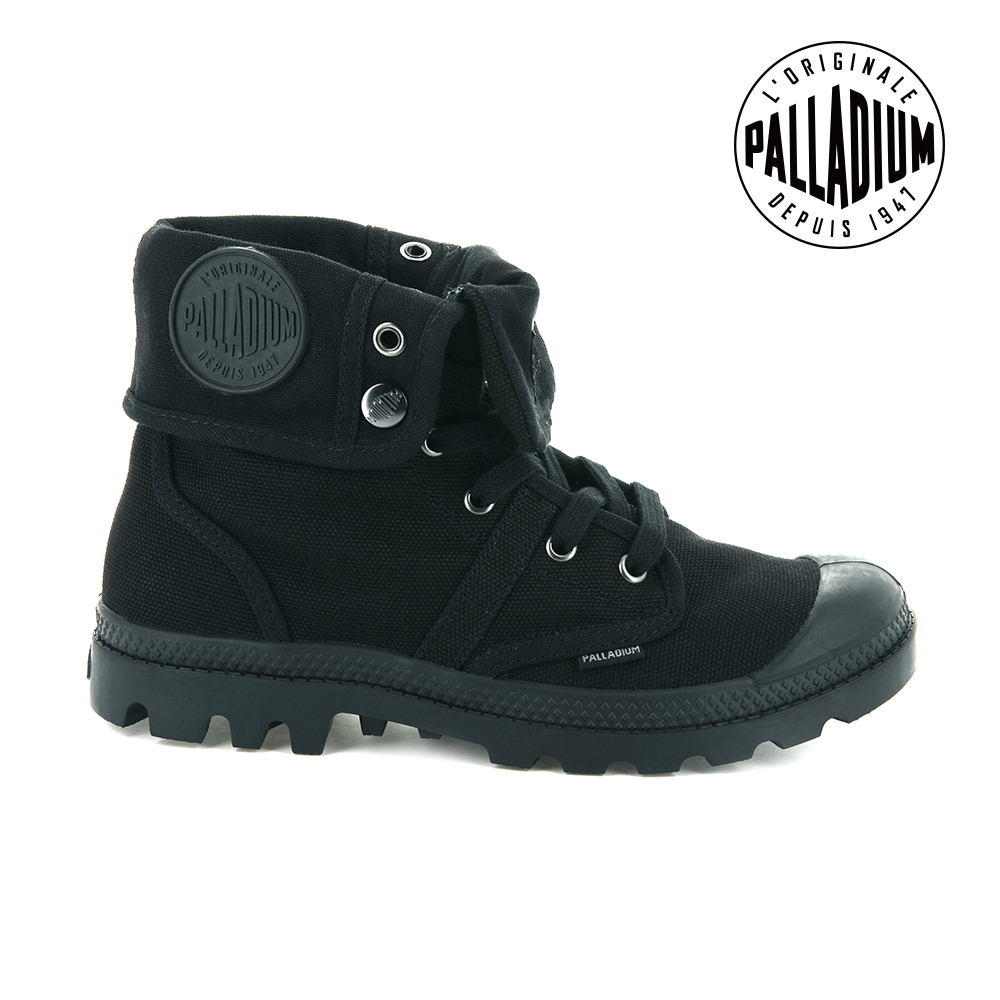 Palladium PALLABROUSE BAGGY帆布靴-女-黑 product image 1