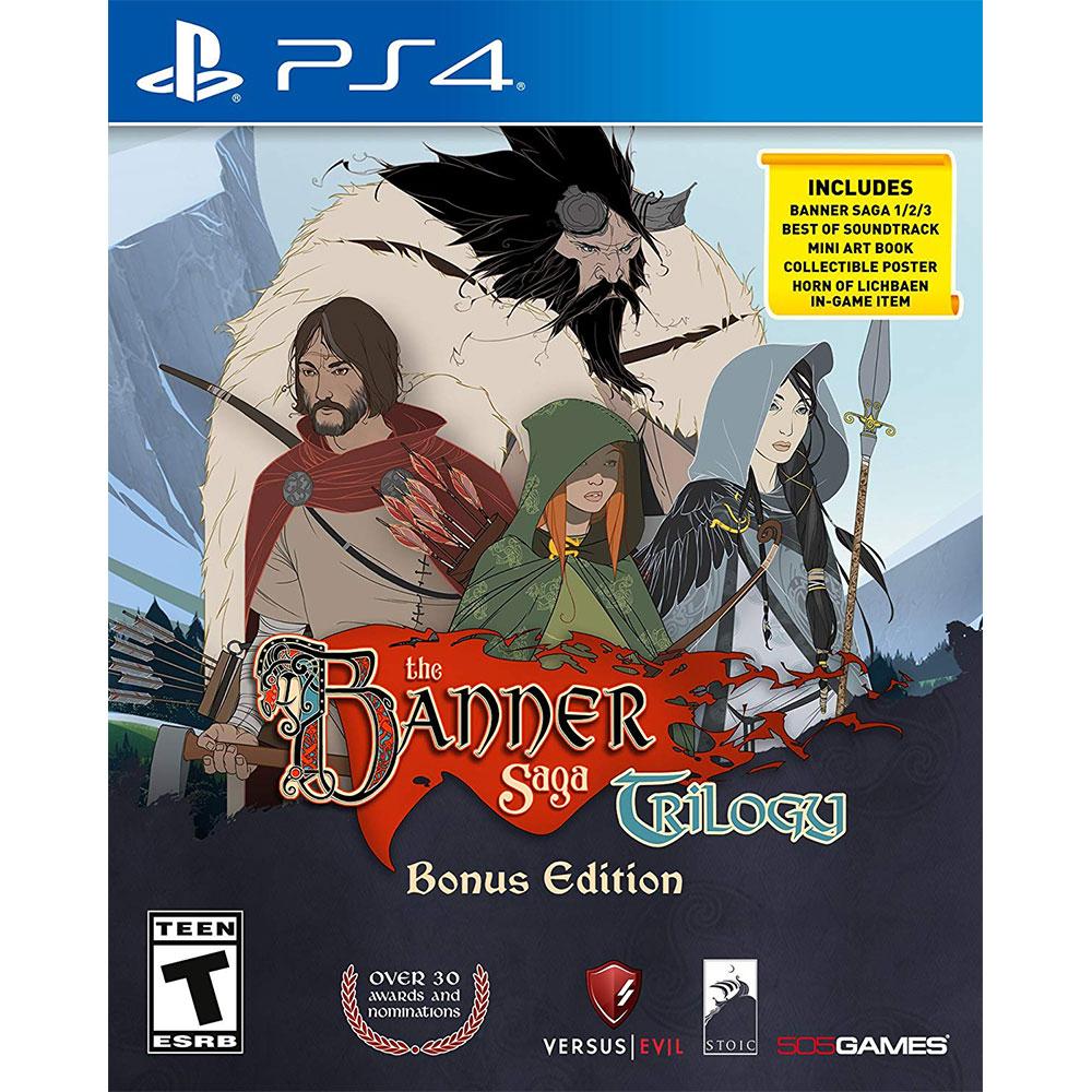 旗幟的傳說 三部曲 特典版 Banner Saga Trilogy - PS4 英文美版