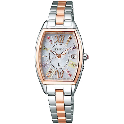 SEIKO精工LUKIA太陽能耶誕電波限量腕錶(SSVW130J)