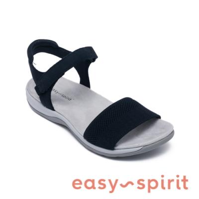 Easy Spirit-seSHAILEY  典雅綁帶設計涼鞋-深藍色