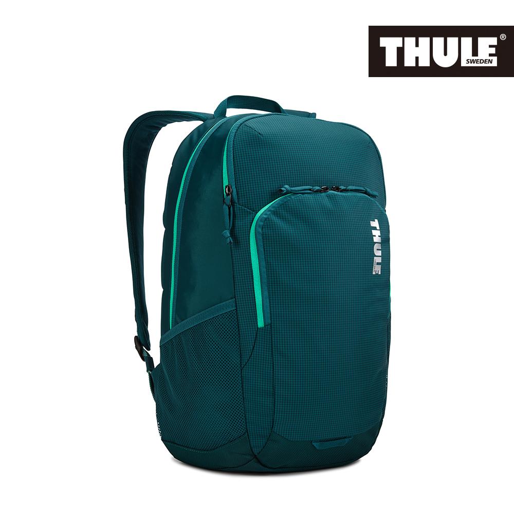 THULE-Campus 24L電腦後背包TCAM-3116-深藍綠