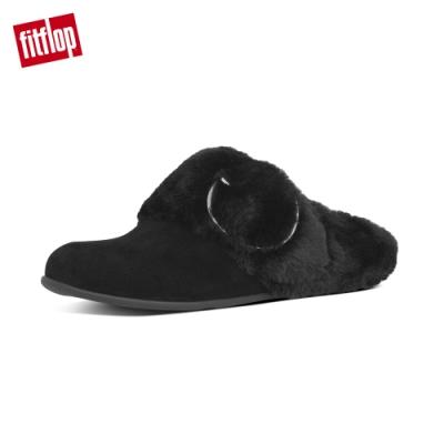 FitFlop TILDA BUCKLE SLIPPERS 便鞋 靚黑色