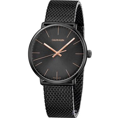 Calvin Klein 巔峰系列復刻腕錶(K8M21421)黑/40mm