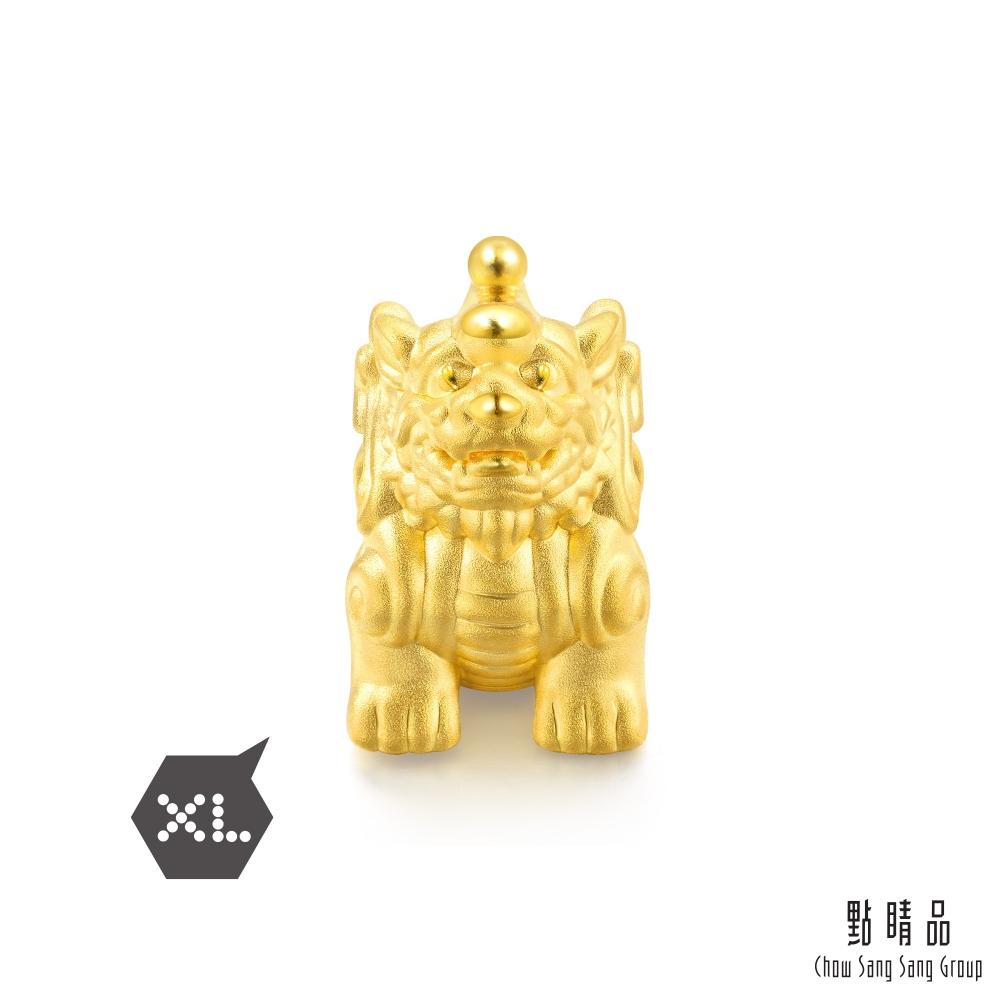 點睛品 999純金 Charme 文化祝福 招財貔貅 黃金串珠
