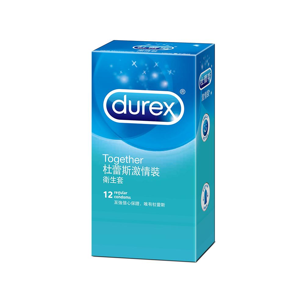 Durex 杜蕾斯-激情裝保險套(12入)