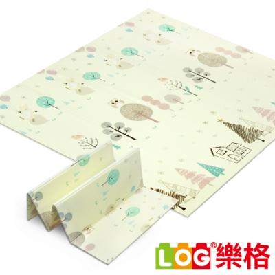 LOG樂格 XPE環保遊戲摺疊墊/折疊地墊 -森林小屋 (加大款)
